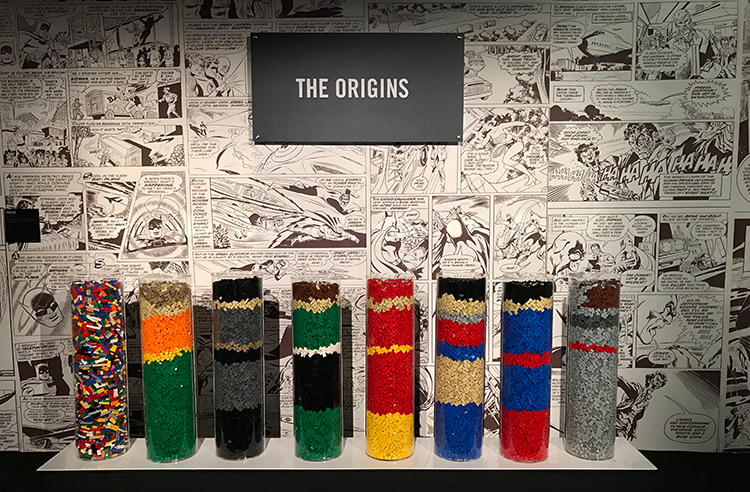 The Art Of The Bricks: DC Super Heroes - Origins