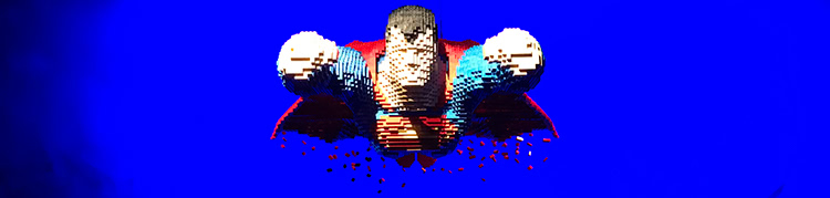 The Art Of The Brick: DC Super Heroes - Soaring