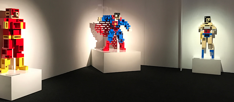 The Art Of The Brick: DC Super Heroes - Cubed