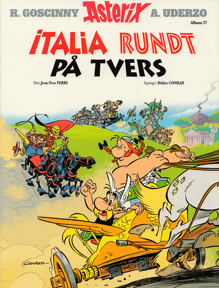 Asterix - Italia rundt på tvers