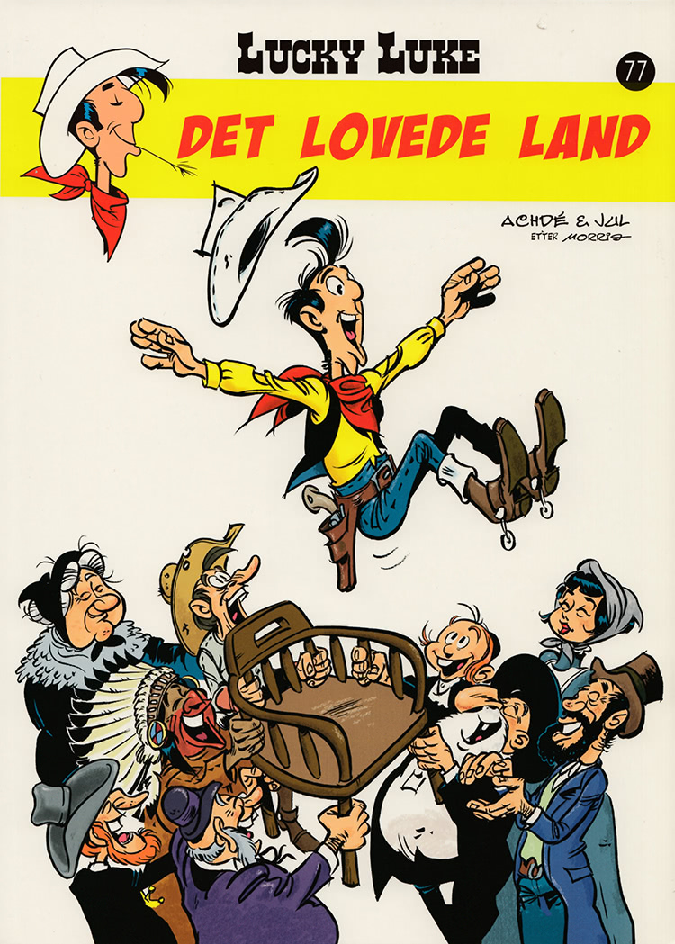 Lucky Luke - Det lovede land